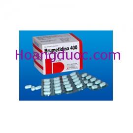 Viên bao phim Brumetidina 400 mg